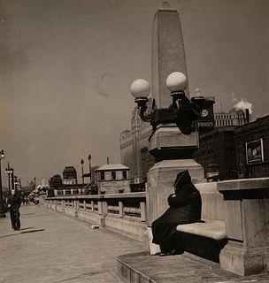 Stephen Deutch (American, 1908-1997) Untitled (Wacker Drive, Chicago)