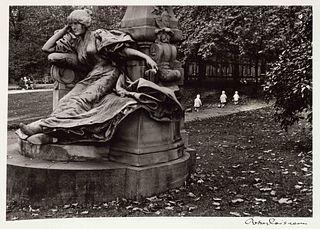 Robert Doisneau (French, 1912-1994) A pair of photographs (Trois Petits Enfants Blancs, 1971; Les Pieds Aux Murs, 1934)