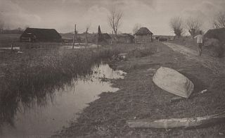 Peter Henry Emerson (British, 1856-1936) Twixt Land and Water, c. 1885