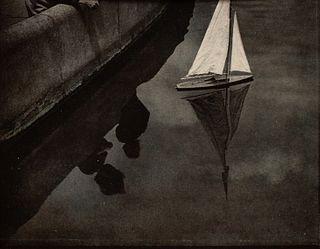 Adolf Fassbender (American, 1884-1980) Becalmed, c. 1920