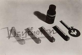 Werner David Feist (Canadian/German, 1909-1998) A group of three photographs (Untitled (Celaskon); Untitled (Indanthren); Untitled (Psychoton), c. 193