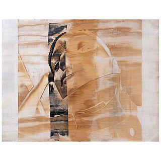 "LUIS RICAURTE, DEREOJOSSABESQUETEMIRO, Unsigned, Lasergraph on wood without run number, 13.7 x 17.3"" (35 x 44 cm), Certificate"