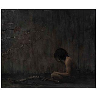 "JOAQUÍN FLORES, Silencio, 2012, Unsigned, Oil on canvas, 65.3 x 78.7"" (166 x 200 cm), Certificate"