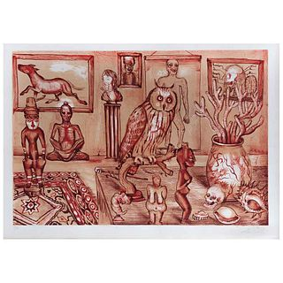 """DR. LAKRA, Untitled, Signed, Serigraph P / A, 16.5 x 24.6"""" (42 x 62.5 cm)"""