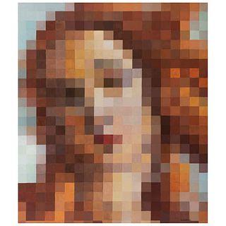 "DAVID KUMETZ, Código II, Signed and dated 21, Acrylic on canvas, 55.1 x 47.2"" (140 x 120 cm), Certificate"