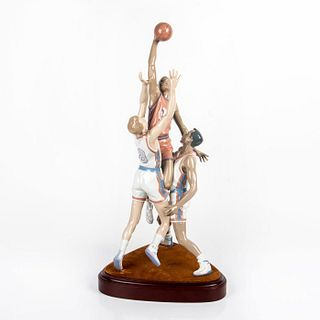 To The Rim 1001800 LTD - Lladro Porcelain Figure with Base