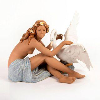 Leda and the Swan 01012444 - Lladro Porcelain Figurine
