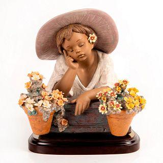 My Special Garden 01013582 LTD - Lladro Porcelain Figurine with Base