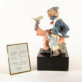 CIRCUS SHOW 1991/1994 01011750 LTD - Lladro Porcelain Figure
