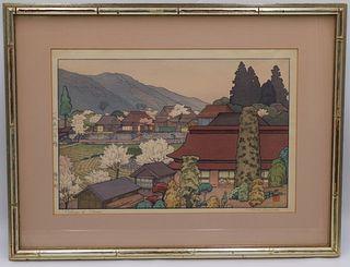 Toshi Yoshida (Japanese, 1911-1995).
