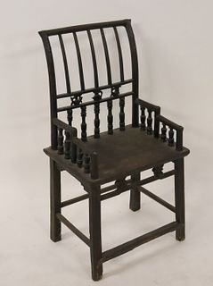 Antique Chinese Hardwood Chair.