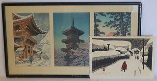 Japanese Woodblocks Inc. Kawase and Saito.