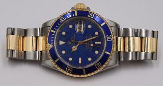 JEWELRY. Rolex Submariner Two-Tone Ref# 16613