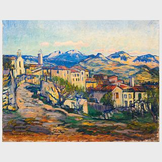 Georges Chénard-Huché (1864-1937): Village