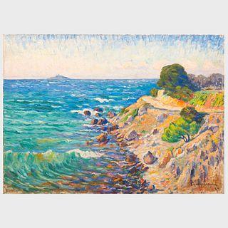 Georges Chénard-Huché (1864-1937): Seascape