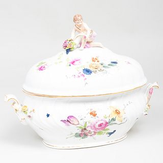 Berlin Porcelain Tureen and Cover