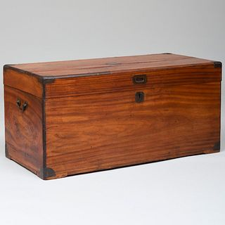 Chinese Export Camphor Wood Chest