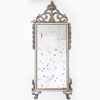 Italian Neoclassical Style Painted Mirror