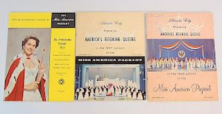 Three Miss America Pageant Programs