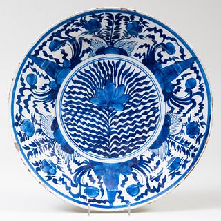 Dutch Blue and White Delft Charger