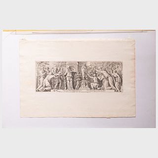 A Miscellaneous Group of Five Neoclassical Prints