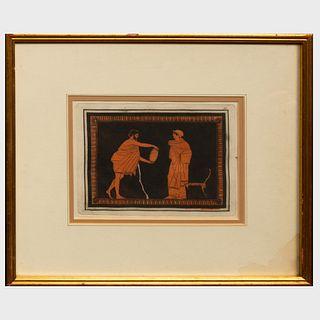 Sir William Hamilton (1730-1803): Neoclassical Scenes: Two Plates