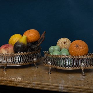 Large Group of  Models of Fruit