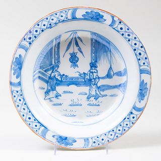 Delft Blue and White Soup Plate