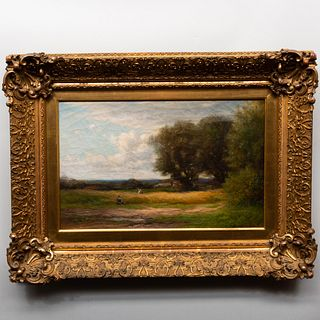 Attributed to Elisabeth Kruseman Van Elten (1876-?): Landscape