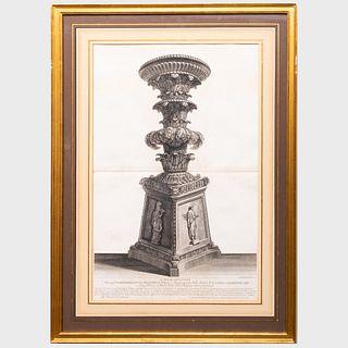 Francesco Piranesi (1758-1810): Dimostrazione in grande/Pantheon; A Sua Eccelenza; Anaglyphus Romae; and A Sua Eccelenza