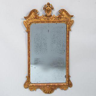 Queen Anne Giltwood Mirror