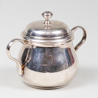 Christofle Silver Plate Sugar Bowl and Cover