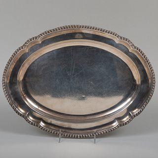 Victorian Sterling Silver Meat Platter