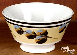 Mocha bowl, with cat's-eye decoration