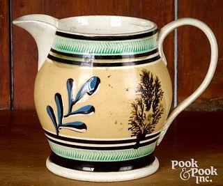Small mocha pitcher