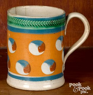 Small mocha mug