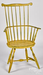 Fanback Windsor armchair, early 19th c.