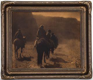Edward Curtis, The Vanishing Race - Navaho, 1904