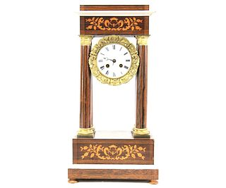 ANTIQUE EMPIRE CLOCK