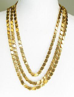 18k Long Chain
