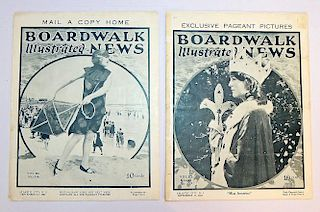 1923 Boardwalk Illustrated News Grouping
