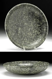 Egyptian Early Dynastic Stone (Gneiss) Bowl