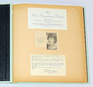 Donna Louise Loar Pageant Career Scrapbook