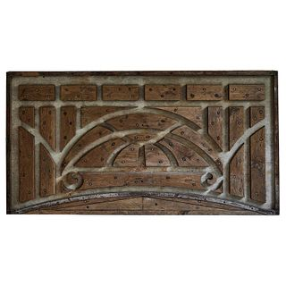 Industrial Wood Panel