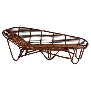 Rattan Chaise