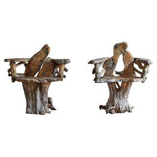 Sculptural Chairs