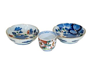 Oriental Bowls and Cup