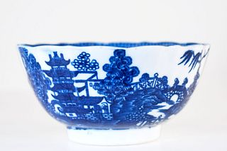 Oriental Blue and White Bowl