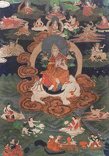Two Tibetan Thangkas