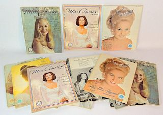 Fifteen Miss America Pageant Programs